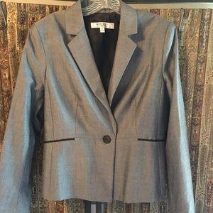 Nine West Grey Jacket size 12